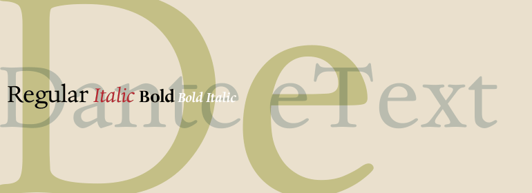 Dante® eText