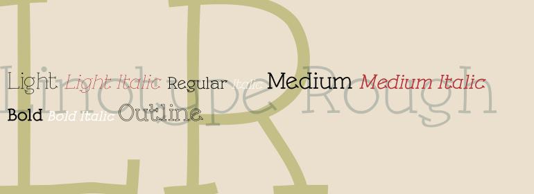 Linotype Rough™