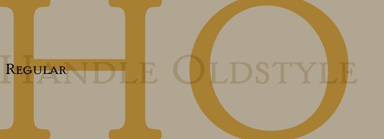 Handle Oldstyle™