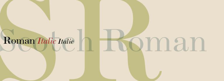 Scotch Roman™