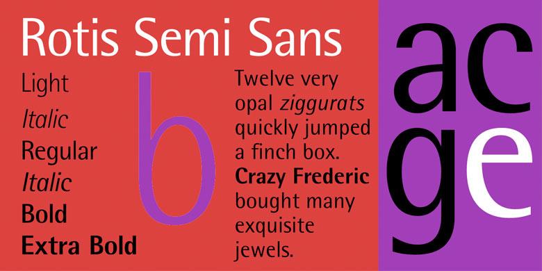 Rotis® Semi Serif