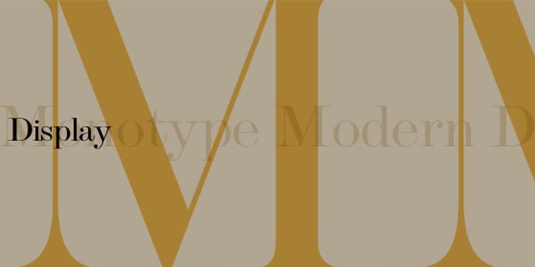 Monotype™ Modern Display™