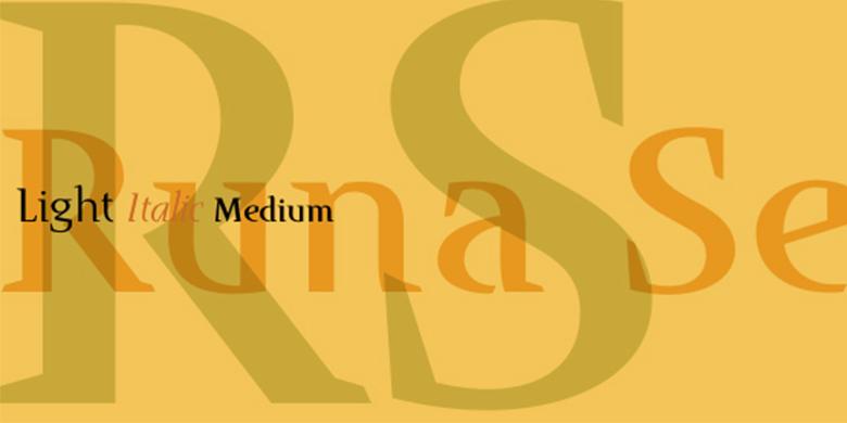 Runa Serif™