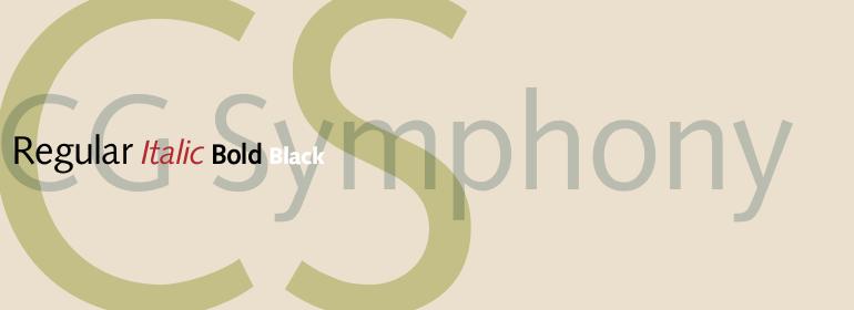 CG Symphony™