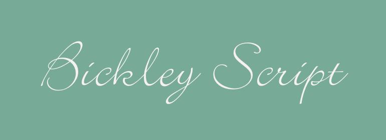 Bickley™ Script