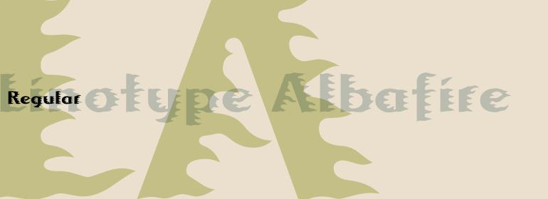 Linotype Albafire™