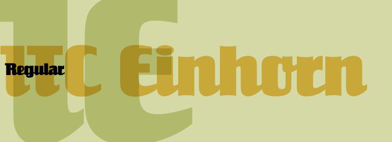 ITC Einhorn™