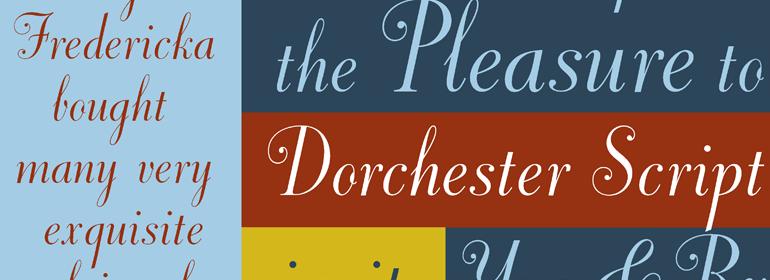 Dorchester Script™