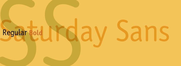 Saturday™ Sans