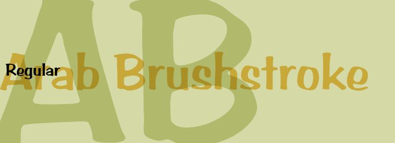 Arab Brushstroke