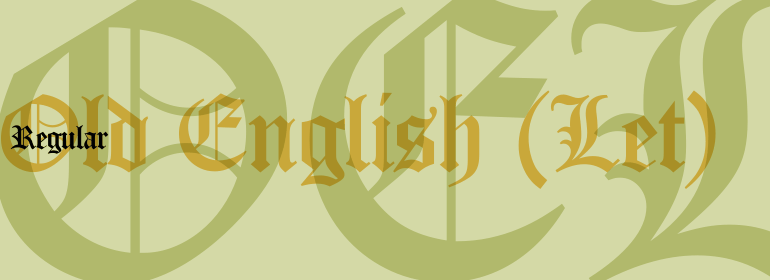 Old English™ (Let)