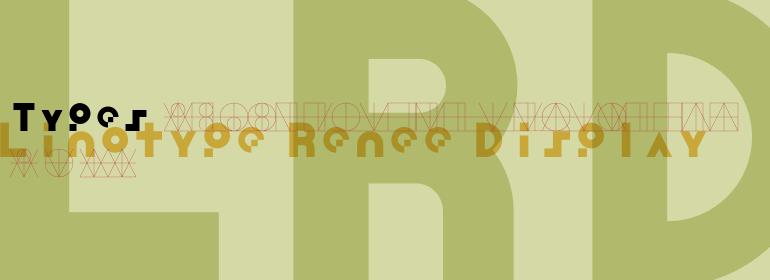 Linotype Renee Display™