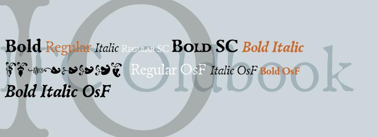 ITC Oldbook™