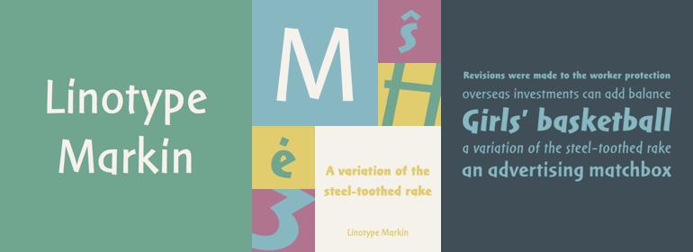 Linotype Markin™