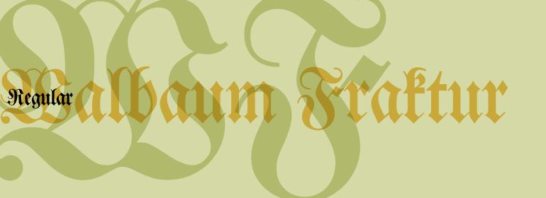 Walbaum Fraktur