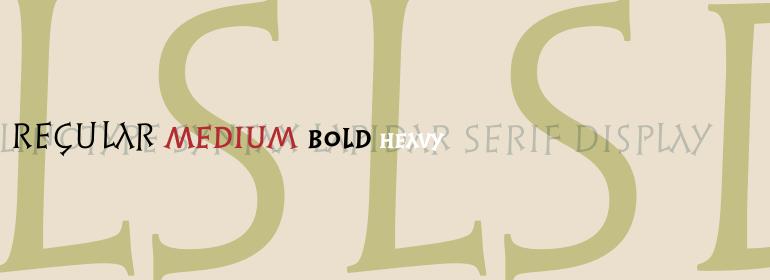 Linotype Syntax® Lapidar Serif Display