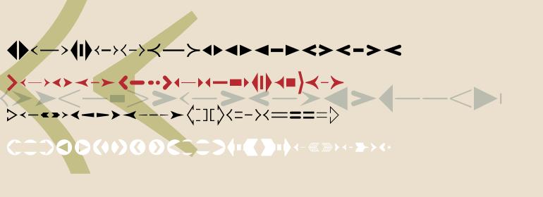 Linotype CreativeArrows™